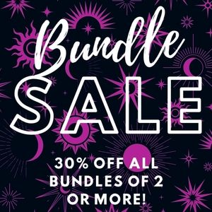 30% OFF all Bundles of 2 or More!